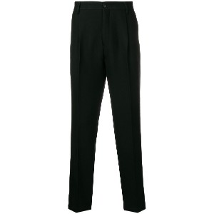 Tomorrowland tapered trousers - ブラック