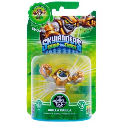 Skylanders Swap Force - Swappable Character pack - Grilla Drilla (Xbox 360/PS3/Nintendo Wii U/Wii...