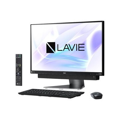 PC-DA870KAB(ダ-クシルバ-) LAVIE Desk All-in-one 23.8型液晶