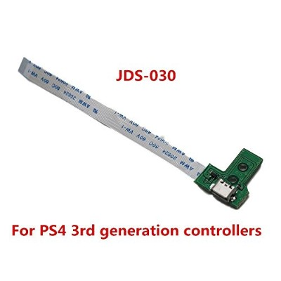 USB充電ポートソケットボードfor ps4コントローラボードjds-030充電器ボードfor the 3rd Generation ps4