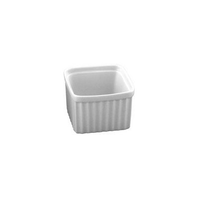 Harold Import会社HIC Square Ramekin、磁器、3 / 6オンス、ホワイトby HIC Harold Import Co。