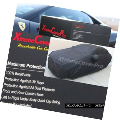カーカバー 2003 2004 Ford Focus 3-Door Hatchback Breathable Car Cover w/MirrorPocket 2003年2004年フォードフォーカス3...