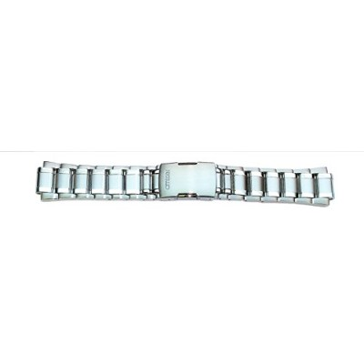 59-s05422元純正Citizen Perpetual CHR a-tシルバートーンステンレススチールWatch Band for Men 's eco-drive Watch at4000–...