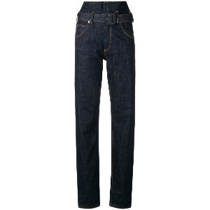 Carven high waisted jeans - ブルー
