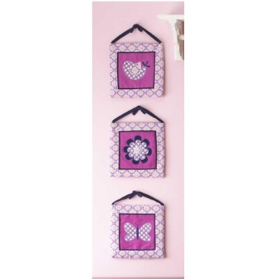 Flutter Wall Hangings - Set of 3 by Pem America