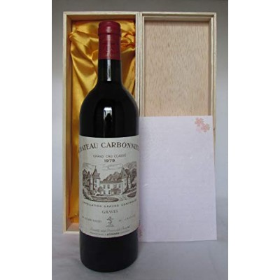 Chateau Carbonnieux Rouge 1979 Graves シャトー カルボニュー ルージュ1979 グラーヴ [並行輸入品]