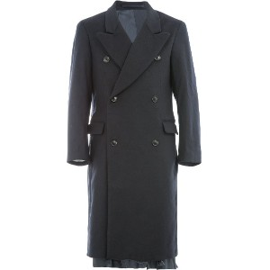 Hed Mayner double breasted coat - ブルー