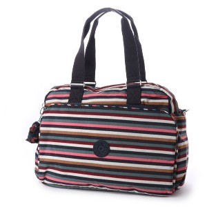 キプリング Kipling JULY BAG (Multi Stripes) レディース