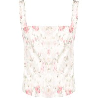 Brock Collection Tayten cherry blossom top - ピンク