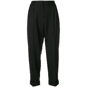 Dolce & Gabbana slim-fit cropped trousers - ブラック