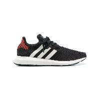 Adidas side stripe sneakers - ブラック