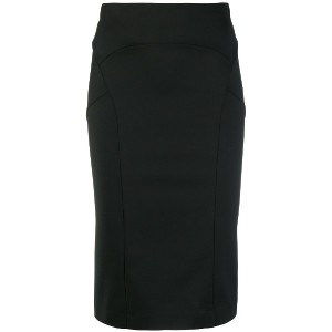 Patrizia Pepe pencil midi skirt - ブラック