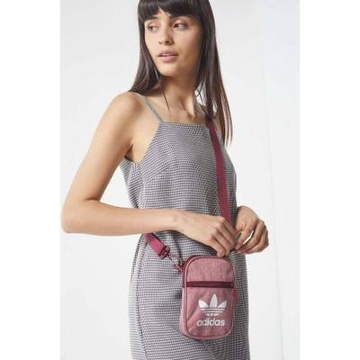 アディダス ショルダーバッグ adidas Casual Crossbody Bag Washed Maroon