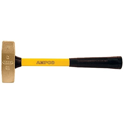 Ampco Safety Tools H-15FG Double Face Machinists Hammer, Non-Sparking, Non-Magnetic, Corrosion...
