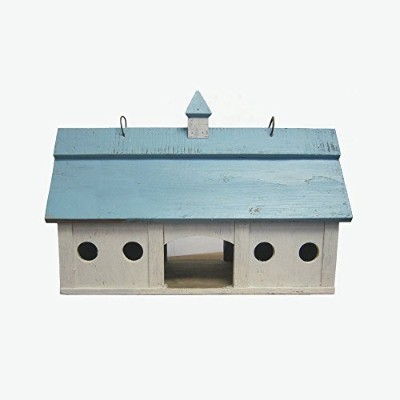 Songbird Essentials Blue Stable Bird Feeder Large