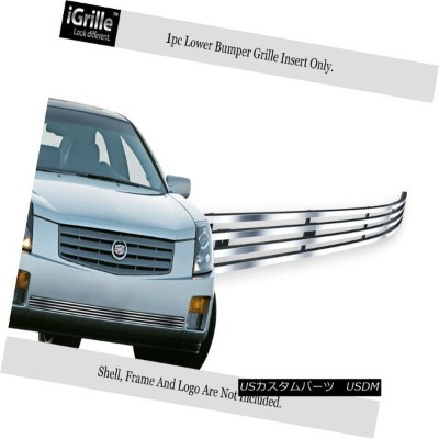USグリル For 2003-2007 Cadillac CTS Stainless Steel Bumper Billet Grille Insert 2003-2007キャデラックCTSステンレス...