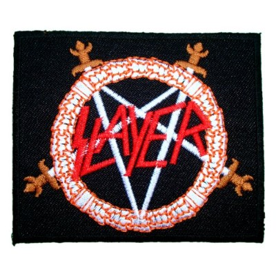 SLAYER Heavy Metal Band Logo t Shirts MS21 iron on Patches by MartOnNet Music Patch