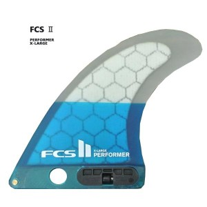 FCS2 FIN/エフシーエス2 ロングボード用フィン PERFORMER PC TEAL X-LARGE LONGBOARD CENTER PC PERFORMANCE CORE/パフォーマンスコア ボックスフィン/センターフィン/サーフボード用フィン