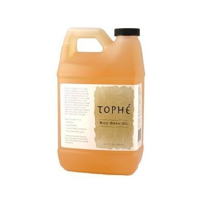 Tophe Pure Rice Bran Oil, 1/2 Gallon by Tophe