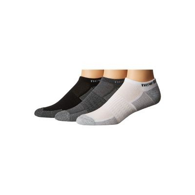 ニューバランス ソックス N611 Performance No Show Socks 3-Pair Pack Assorted