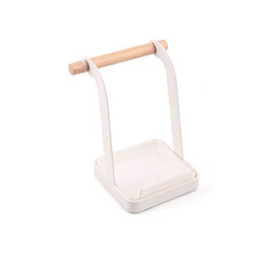 GAYADOO Ladle Stand Lid Rack Stand Spoon Rest Stove Organiser Storage Soup Spoon Rests,Lid And...