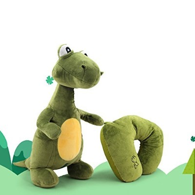 LOHOME U-shape Neck Pillow, 2-in-1 Dinosaurs Transformable Travel Pillow Cute Convertible Dinosaurs...