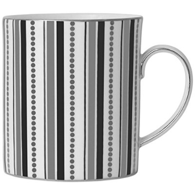 Wedgwood With Love Nouveau Indigo Mug Links, White