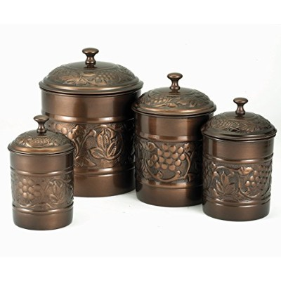 Old Dutch Heritage 4 Piece Canister Set