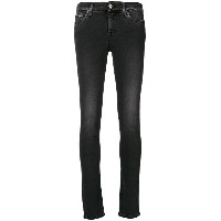 7 For All Mankind スキニー ジーンズ - ブラック