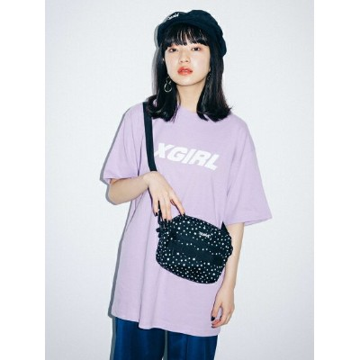 X-girl(エックスガール)【WEB限定】STAR SHOULDER BAG