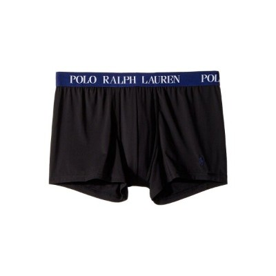 ラルフ ローレン Polo Ralph Lauren メンズ インナー・下着 ボクサーパンツ【Microfiber Pouch Boxer Brief】Polo Black/Fall Royal...