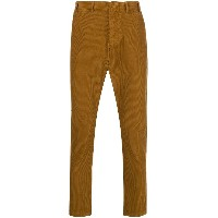 No21 corduroy trousers - ブラウン