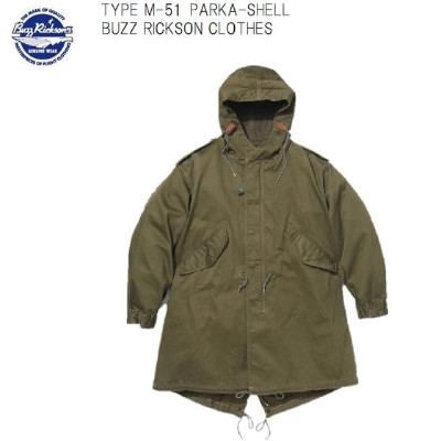 "Buzz Rickson's TYPE M-51モッズコートPARKA-SHELL""BUZZ RICKSON CLOTHES""BR12266(バズリクソンズ)BuzzRickson's【smtb-k】"