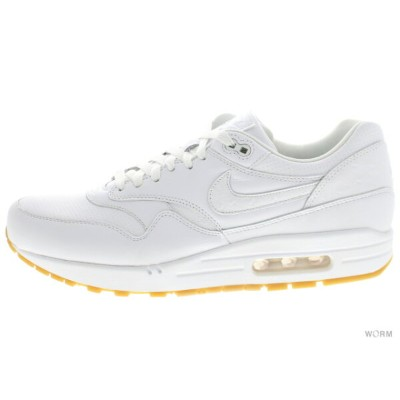 【US11】NIKE AIR MAX 1 LEATHER PA 705007-111 white/white-gum light brown エア マックス 未使用品【中古】