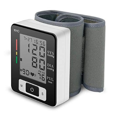 Blood Pressure Monitor Automatic Blood Pressure Cuff Wrist - Large Screen - Comfortable Cuff & Fast...