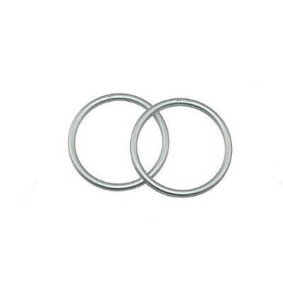 """Topind 3"""" Large Size Aluminium Baby Sling Rings for Baby Carriers & Slings of 2 pcs (銀)"""