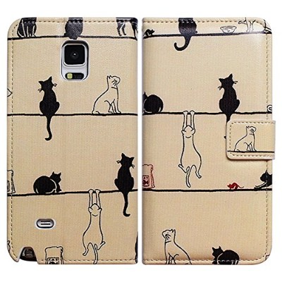 Bfun Packing Bcov Black Cat White Cat Leather Wallet Cover Case For for for for for for for for for...