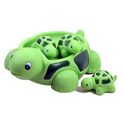 Playmaker Toys Turtle Family Bath Sets(set of 4) - Floating Bath Tub Toy by Playmaker Toys