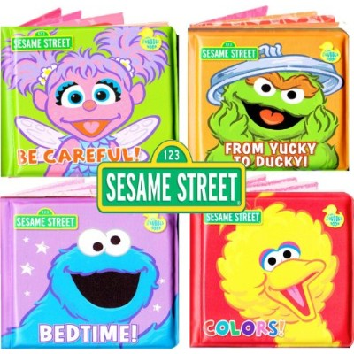Sesame Street Bath Time Bubble Book (Assorted, Designs Vary) by Sesame Street