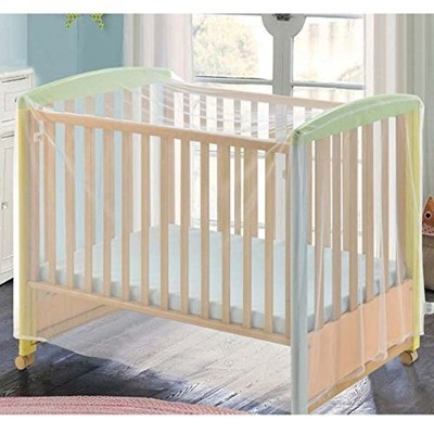 Baby Kid Infant Nursery Bed Crib Canopy Inflatable Mosquito Net Netting by COFFLED