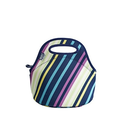 BUILT NY Gourmet Getaway Neoprene Mini Snack Tote, Montauk Stripes by Built NY