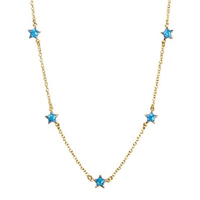 Girl Nation Little TreasuresコレクションエナメルShining Starグループin Azure ブルー