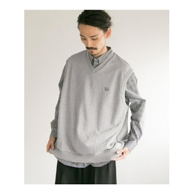 URBAN RESEARCH VOTE MAKE NEW CLOTHES×UR iD 別注BIG SWEAT VEST アーバンリサーチ カットソー【送料無料】