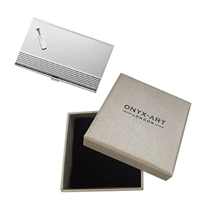 CRICKET BAT SPORT BUSINESS CARD HOLDER IN GIFT BOX