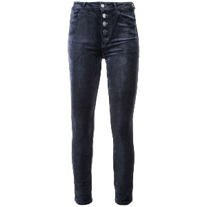 Paige cropped slim fit jeans - ブルー