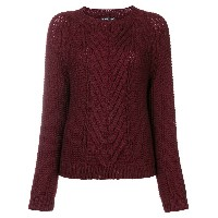 Antik Batik crew neck jumper - レッド