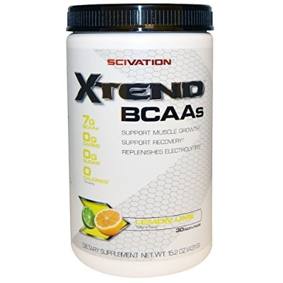 Scivation, Xtend, Intra-Workout Catalyst, Lemon Lime Sour, 15.2 oz (431 g) [並行輸入品] BCAA