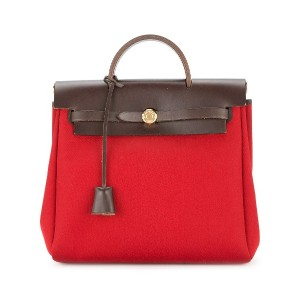 Hermès Pre-Owned エールバッグ 2 in 1 バックパック - レッド