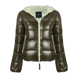 Duvetica zipped padded jacket - グリーン