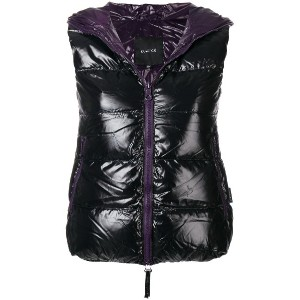 Duvetica sleeveless padded vest - ブラック